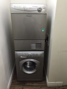 Ariston Stackable Washer and Dryer, European, Ventless