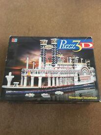 Puzzle 3D Mississippi Steamboat