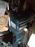 15/hp evinrude outboard motor