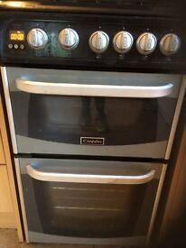 Gas cooker and built in extractor fan