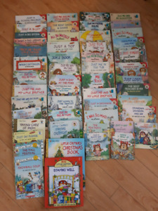 Large Lot of Little Critter Books