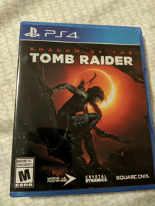 Mint copy of Shadow of the Tomb Raider PS4