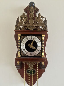 For Sale: Zaanse Zaandam Warmink Dutch Wall Clock