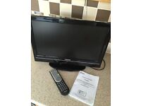 Toshiba 18 inch lcd tv/DVD player