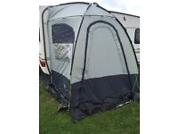 Sunncamp panoramic porch awning