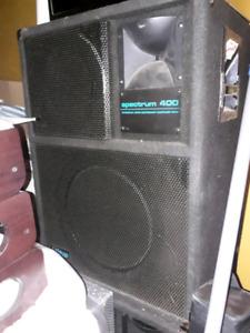 ELITE Spectrum 400 DJ speakers