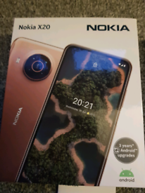 New Nokia X20 5G mobile phone