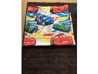 Lightning McQueen bedroom curtains and shade
