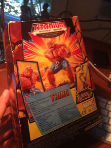 MARVEL- THE THING Titanium Serie. DieCast 4+ West Island Greater Montréal image 4