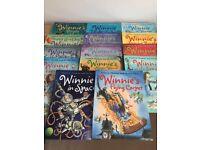 Winnie The Witch Set of 14 books