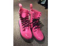 Size 5 Pink Goldigga Boots