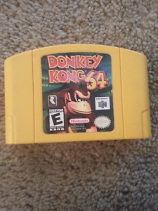 Donkey Kong n64