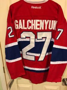*** NEW - ALEX GALCHENYUK - HOCKEY JERSEYS - MONTREAL CANADIENS