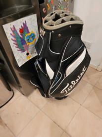 Titilist golf cart bag