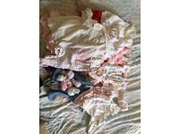 Bundle of Baby Girls Clothes 0-3Months