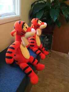 Crocheted Tigger's