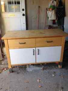 IKEA island kitchen cabinet for sale