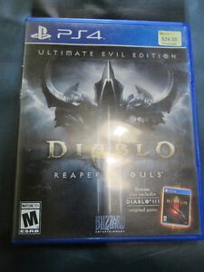 PLAYSTATION 4 GAMES FOR SALE AT NEARLY NEW PORT HOPE Peterborough Peterborough Area image 3