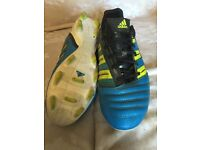 Adidas Predator TRX FG bladed football boots size 9