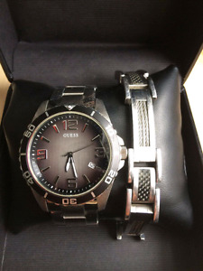 Mens GUESS watch set (Need gone asap!!)