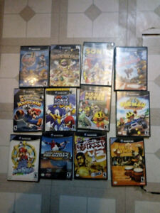 Gamecube Console + Games Paper Mario Sonic Kirby Donkey kong