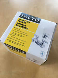 NEW IN THE BOX - RONA bathroom faucet never used