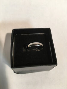 Tungsten Band Ring 6mm for Men or Women Size 7.5