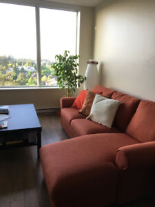 Fully-Furnished 2-Bedroom Condo UBC for Sublease