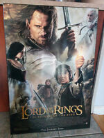 Poster Cadre Lord of the Rings – The return of the king