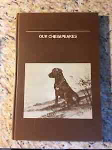 Book - Our Chesapeakes by Eloise Heller Cherry Regina Regina Area image 1