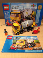 **Retired** LEGO City Cement Mixer Set with Box and Manual