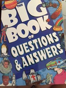 The Big Book of Questions and Andwers Peterborough Peterborough Area image 1