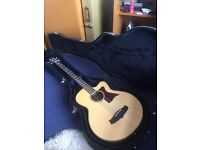 Tanglewood electro acoustic bass