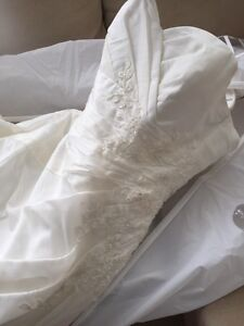 Wedding dress bridal gown prom dress, size 12 - 14