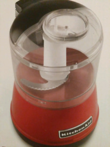 KitchenAid Food Chopper Empire Red with Packaging