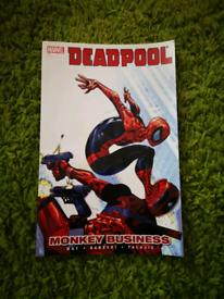 Marvel Deadpool monkey business comic