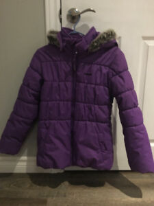 LIKE NEW! Purple Girls Oshkosh Winter Jacket 12