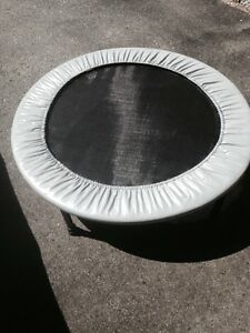 KEEP FIT WITH A MINI TRAMPOLINE
