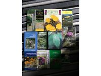 Gardening, horticulture books job lot