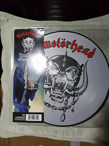 MOTORHEAD LIVE AT THE ROUNDHOUSE PICTURE DISC VINYL ! BRAND NEW