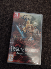 Hyrule Warriors Age Of Calamity Nintendo Switch Game