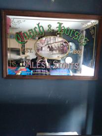 Breweriana pub advertising