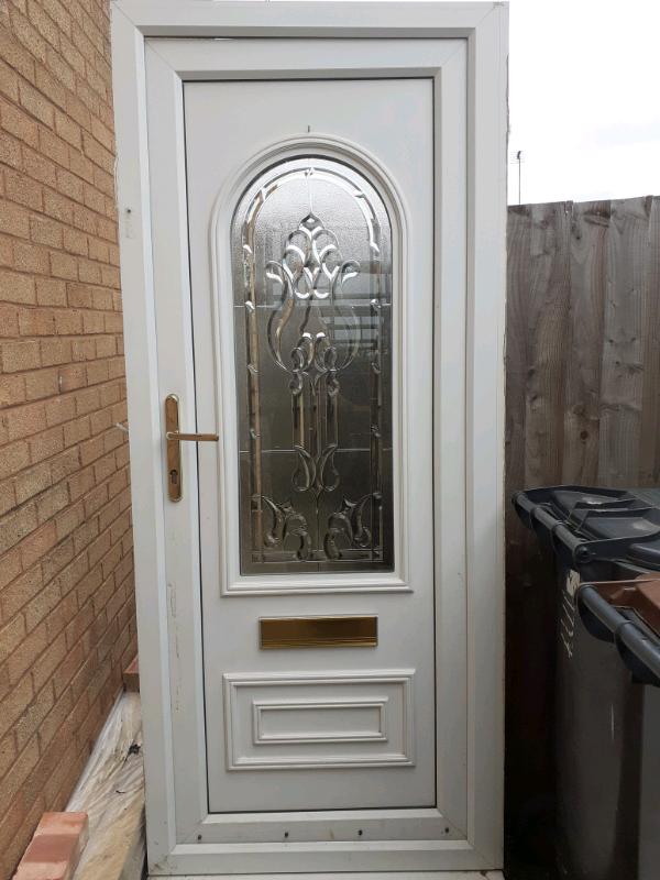 FREE pvc front door.