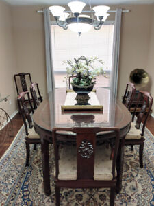 Authentic Chinese Rosewood Dining Table