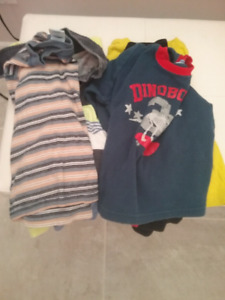 6 boys shirts size 2 and 3T
