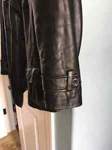Daniers Black Leather Lamb Ladies Jacket Kitchener / Waterloo Kitchener Area image 3