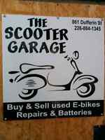 The scooter garage