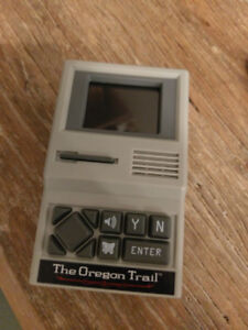 The Oregon Trail - Handheld Electronic Game