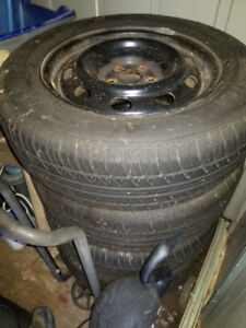 Rims and  Summer tires for 2006 PT Cruiser - 195/65R15