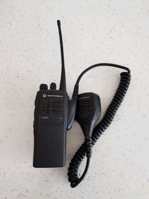 Motorola GP340 UHF Radio  | in Ripley, Derbyshire | Gumtree